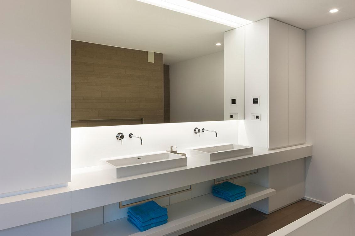 sanitair in moderne badkamer